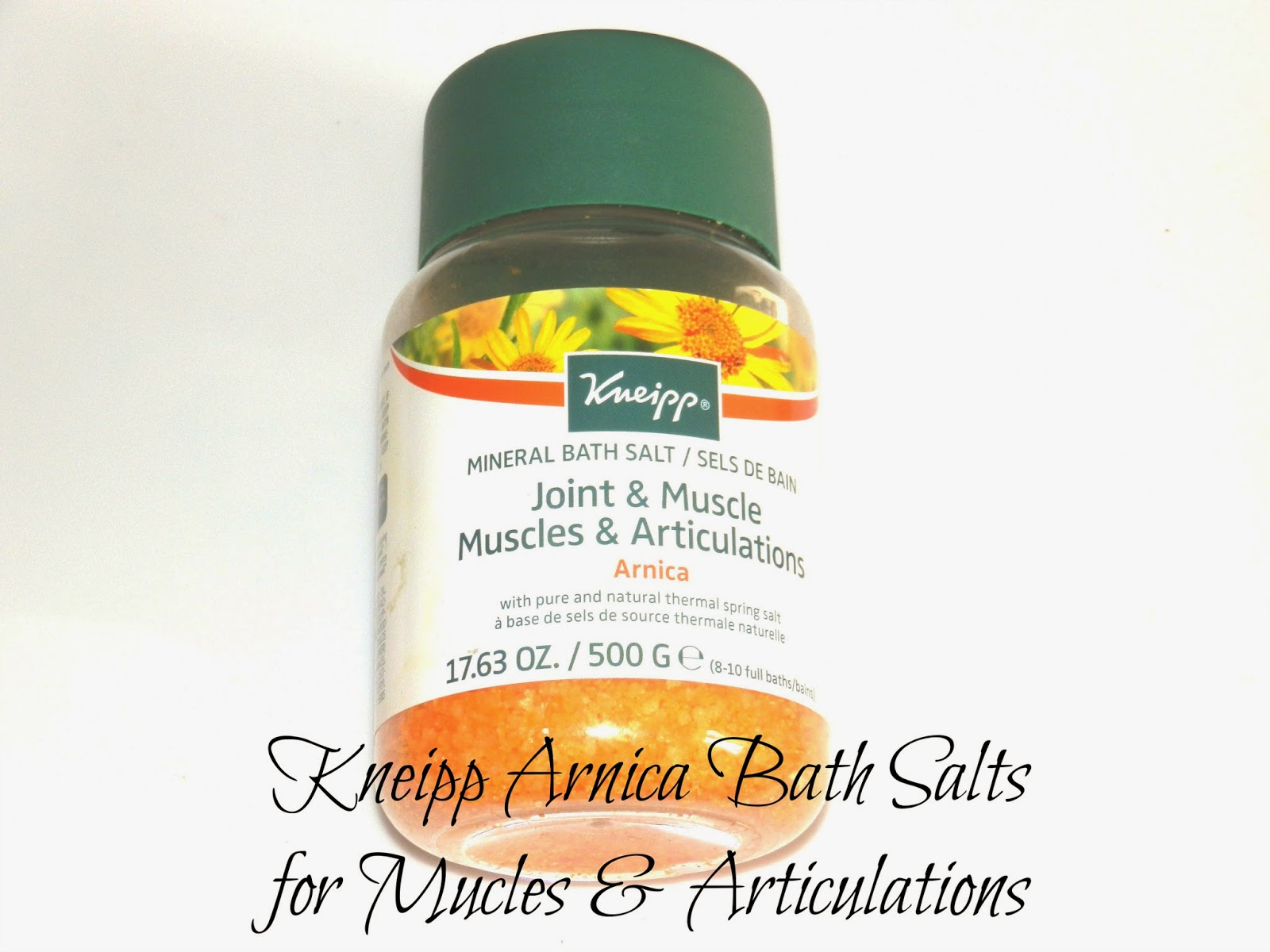 Kneipp Arnica Mineral Bath Salts Reviews