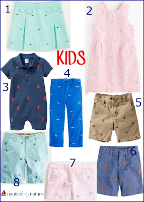 Nautical by Nature: Critter Clothing for the Whole Family