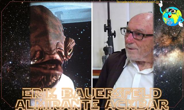 Dublagem, Star Wars, Almirante Ackbar, It's a trap!, Erick Bauersfeld, Star Wars O Retorno de Jedi, RIP, Terra de Nerd,