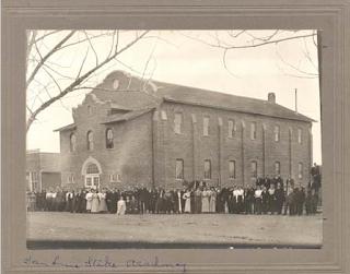 Frank Soule, San Luis Stake Academy, ancestry, genealogy, family history, Sanford Colorado , Hazel Mickelsen Ganus, Manassa Colorado