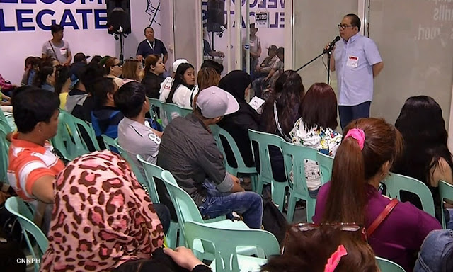ILLEGAL FILIPINOS REACHING HOME IN AMNESTY PROGRAM
