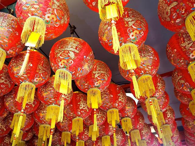 Chinese lanterns, Georgetown, Penang, Malaysia