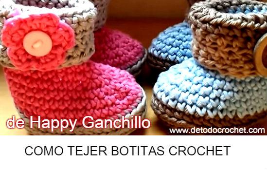 como-tejer-botitas-crochet