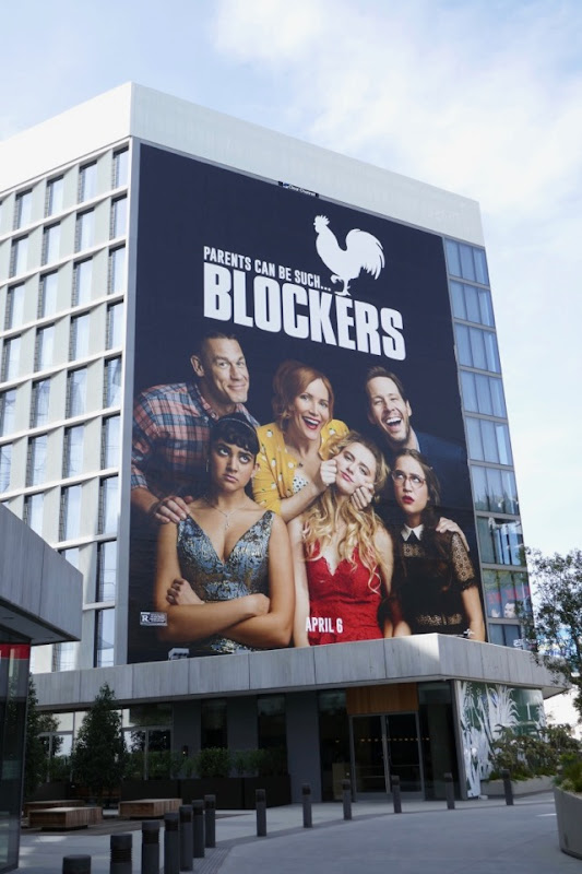 Giant Blockers film billboard