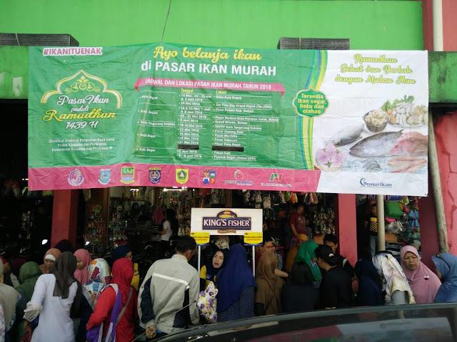 Bazar Ramadhan Pasar Ikan Murah