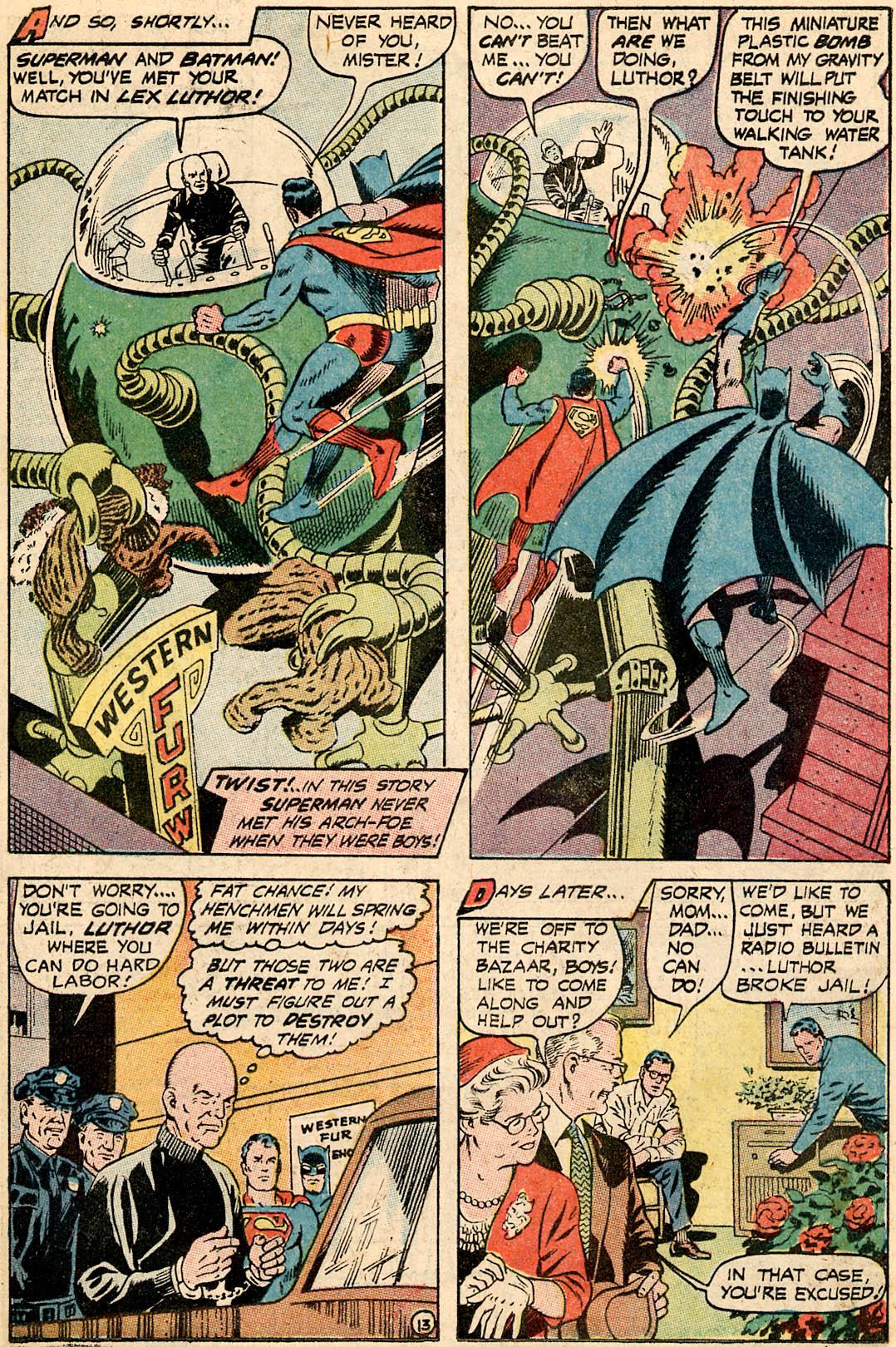 Read online World's Finest Comics comic -  Issue #172 - 19