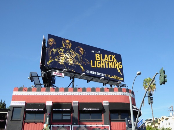 Black Lightning season 1 billboard