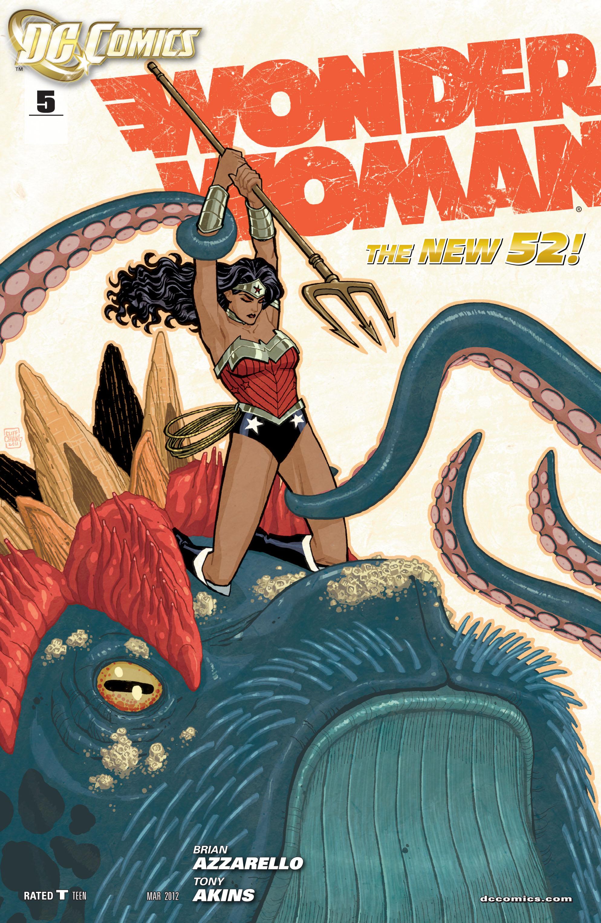 Read online Wonder Woman (2011) comic -  Issue #5 - 1