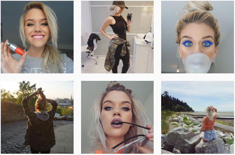 É uma guru que qualquer pessoa se inspira e segue nas tendências. Ela é linda e traz maquiagens incríveis que podem serem feitas na vida real sem muita complicação. Sempre postando o resultados de suas maquiagens e sendo alto astral deixando qualquer pessoa feliz em seguir ela e acompanhar sua vida no Instagram.