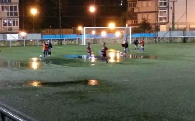Campo inundado de La Siebe