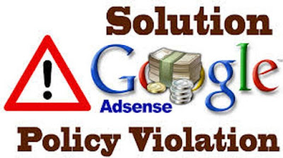 Reasons why google suspended your adsense account and solution