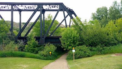 CNR Midland Bridge, Drumheller