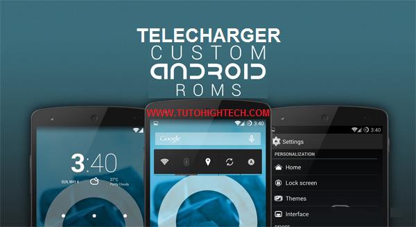 Télécharger ROM Android gratuit