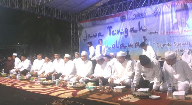 Aneh, Jateng Bershalawat Bersama Muhammadiyah ini tidak ada Shalawatnya