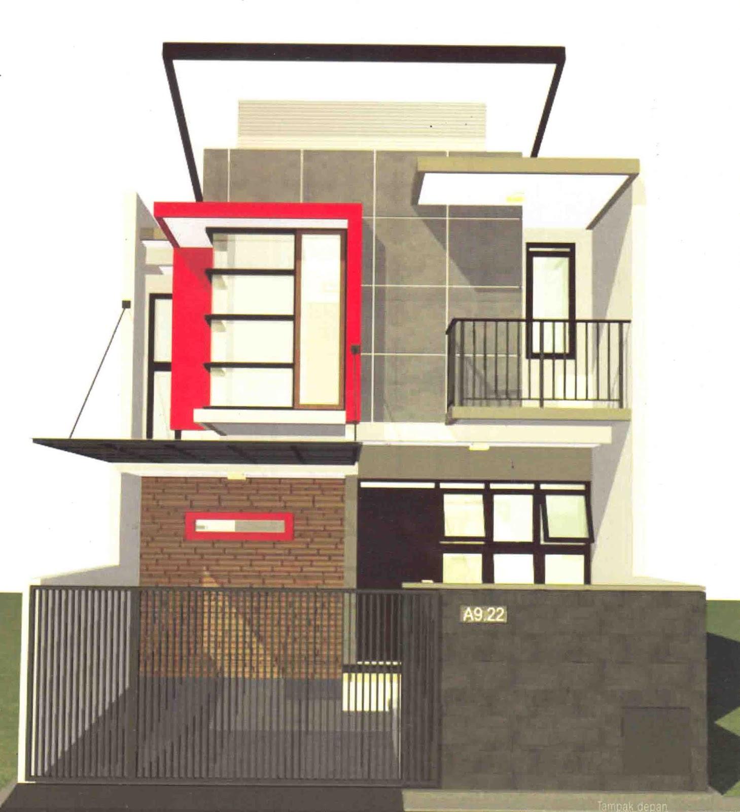 Ragam Desain Rumah Tingkat Di Kaveling Standar Design Interior