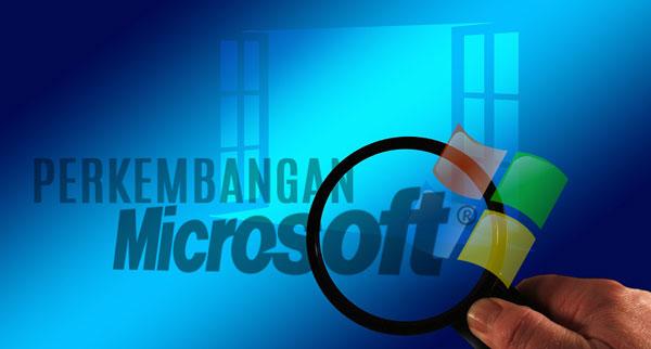 perkembangan microsoft windows
