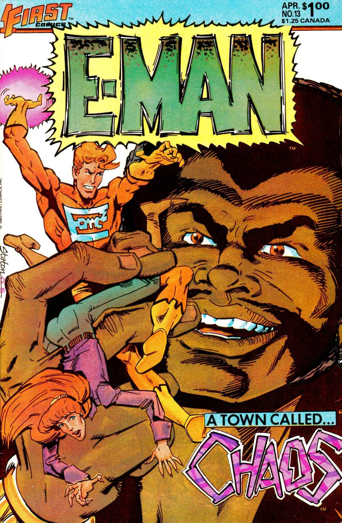 E-Man (1983) 13 Page 1