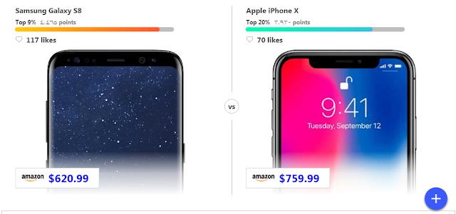 أفضل موقع للمقارنة بين مواصفات الهواتف الذكية وأسعارها