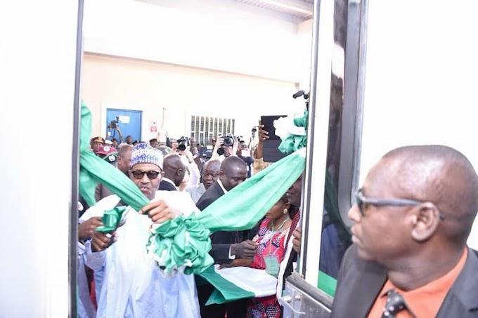 Nigeria opens new port - hundreds of kilometres from the sea