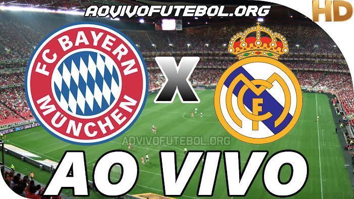Assistir Bayern de Munique x Real Madrid Ao Vivo