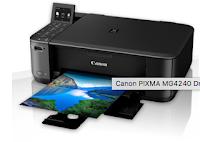 imagens da impressora Canon PIXMA MG 4240 Downloads Driver Para Windows 10/8/7 e Mac Linux