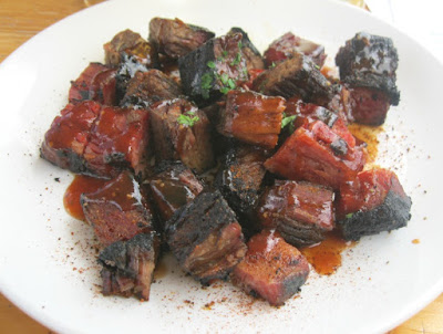 Brown Iron Brewhouse gluten free burnt ends