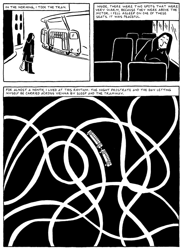 Read Chapter 9 - The Veil, page 84, from Marjane Satrapi's Persepolis 2 - The Story of a Return