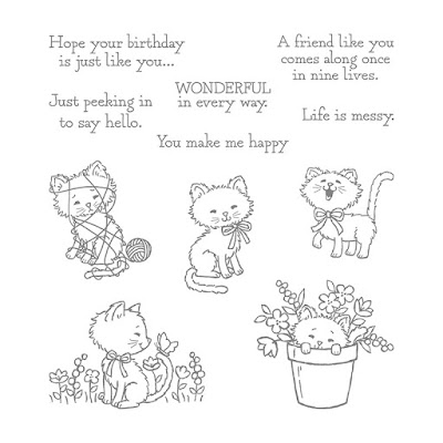 Pretty Kitty Stamp Set - Simply Stamping with Narelle - available here - http://www3.stampinup.com/ECWeb/ProductDetails.aspx?productID=141864&dbwsdemoid=4008228