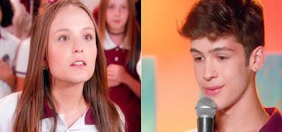 João Guilherme pede Larissa Manoela em namoro em As Aventuras de Poliana