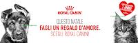 Logo ''Fagli un regalo d'amore, scegli Royal Canin'': vinci 1 anno di prodotti per l'amico a 4 zampe