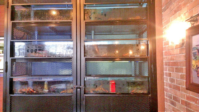 The Lobster Tank at Burger & Lobster, Kuwait