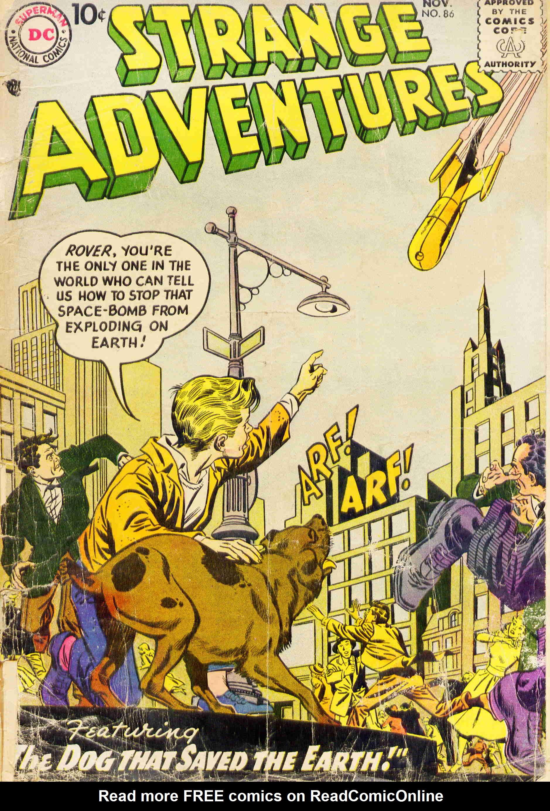 Strange Adventures (1950) issue 86 - Page 1