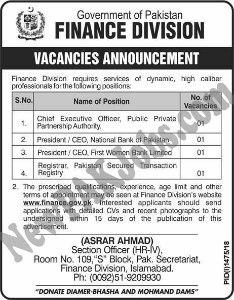 Finance-Division-Government-of-Pakistan-www.finance.gov.pk