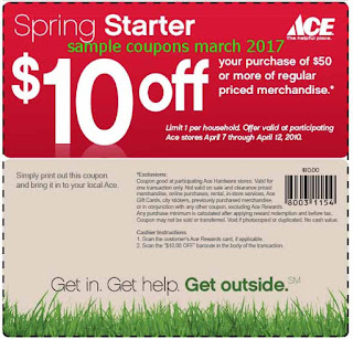 Ace Hardware coupons march 2017