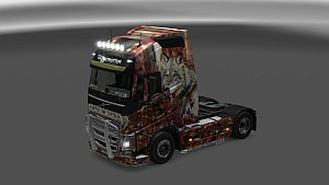 Wood Wolf skin for Volvo 2012&2013