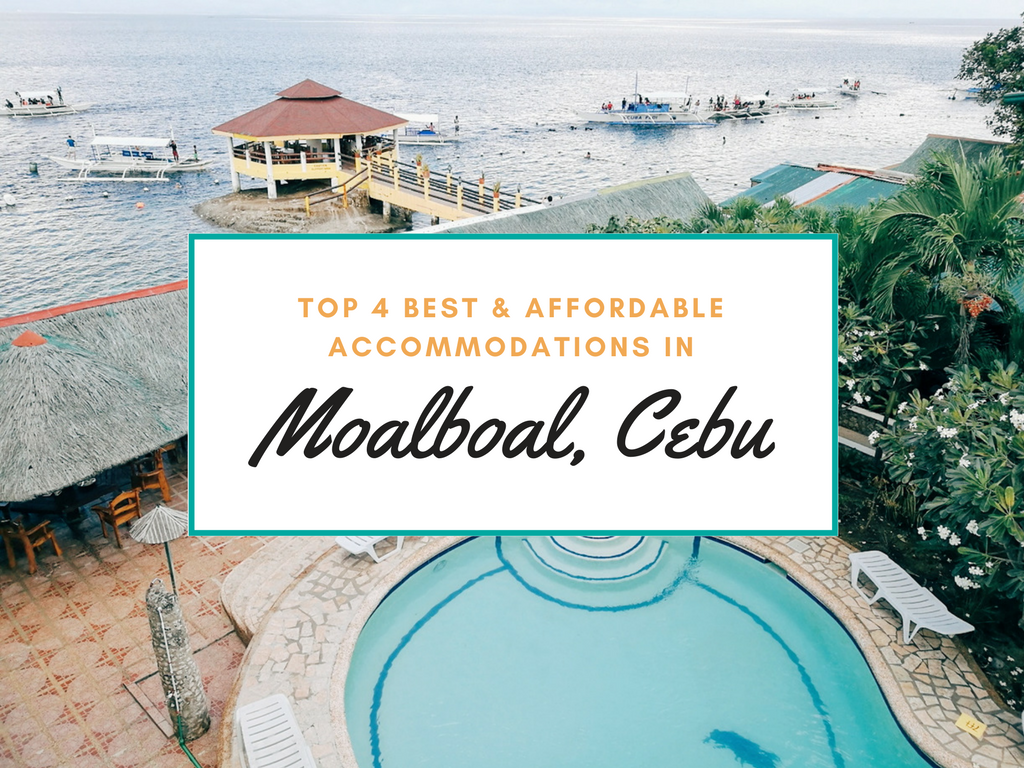 Top 4 Best and Affordable Accommodations in Moalboal, Cebu