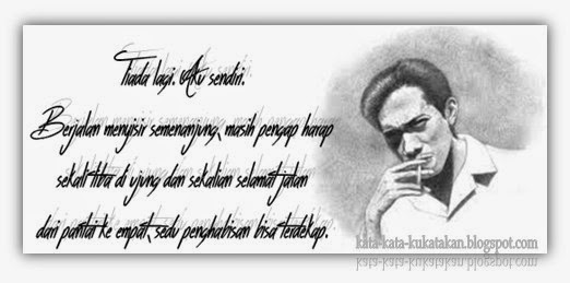 Kata Cinta Chairil Anwar