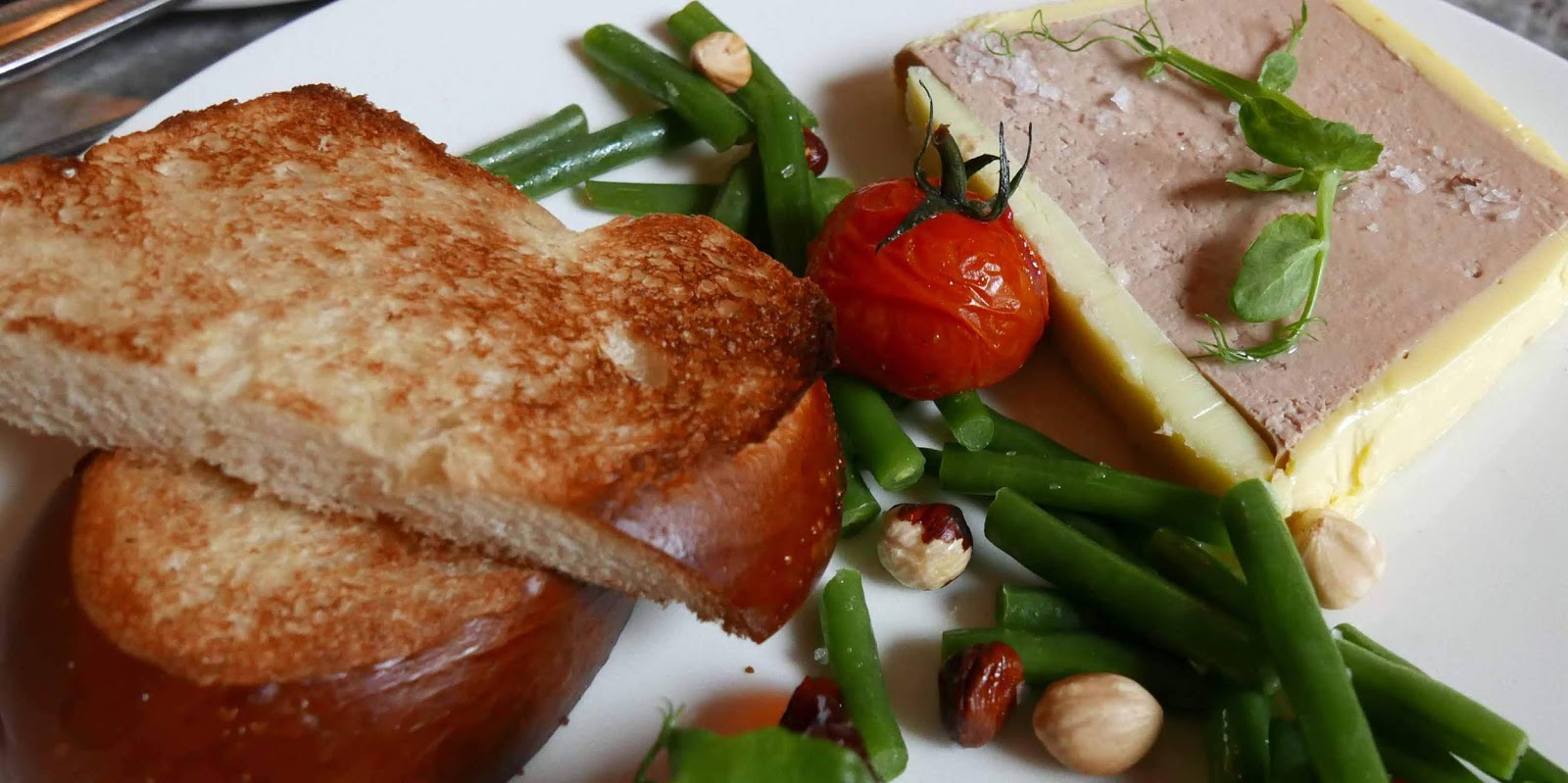 RESTAURANTS AND FOOD: New Chef and Tempting New Menu in Pembroke ...