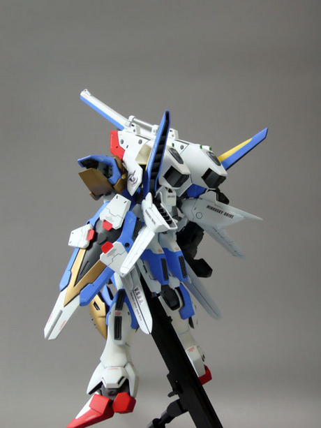 MG 1/100 V2 Assault Buster Gundam Custom Build - Gundam Kits Collection News and Reviews