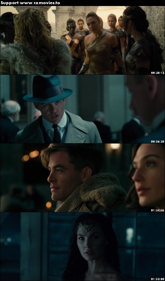 Wonder woman 2017 English 480p BRRip 400MB ESubs