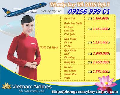 vé máy bay Tết 2016 đi Hải Phòng