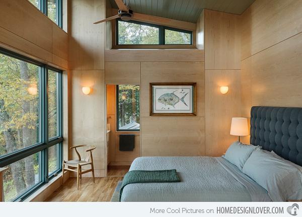 38 desain kamar tidur minimalis warna biru penuh kreasi