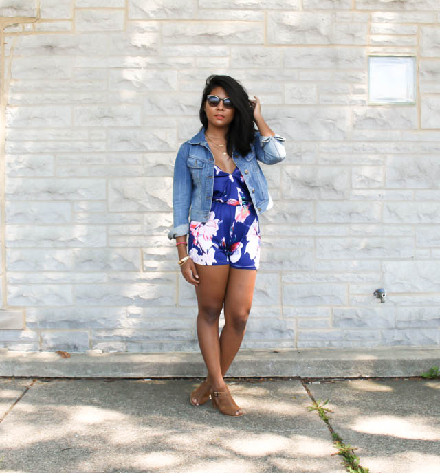 floral-romper-summer-outfit-heel