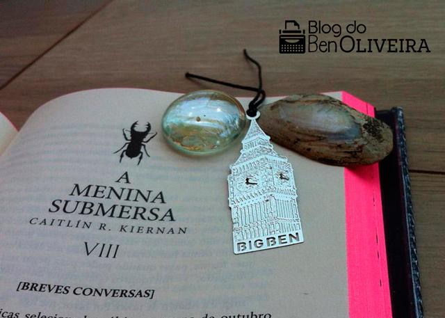 Livro A Menina Submersa Caitlín R. Kiernan DarkSide Books