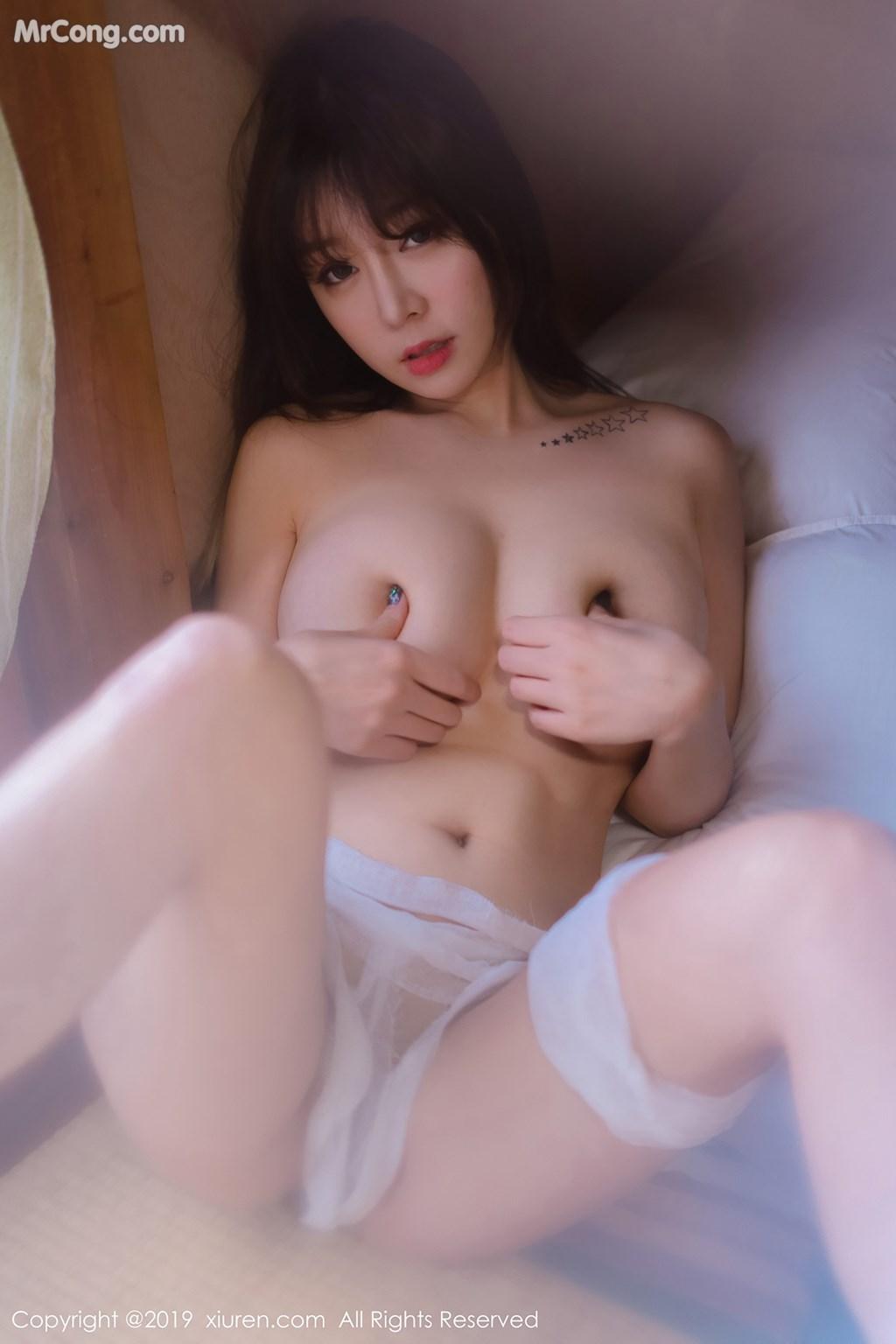 Image XIUREN-No.1308-Wang-Yu-Chun-MrCong.com-010 in post XIUREN No.1308: Người mẫu Wang Yu Chun (王雨纯) (49 ảnh)