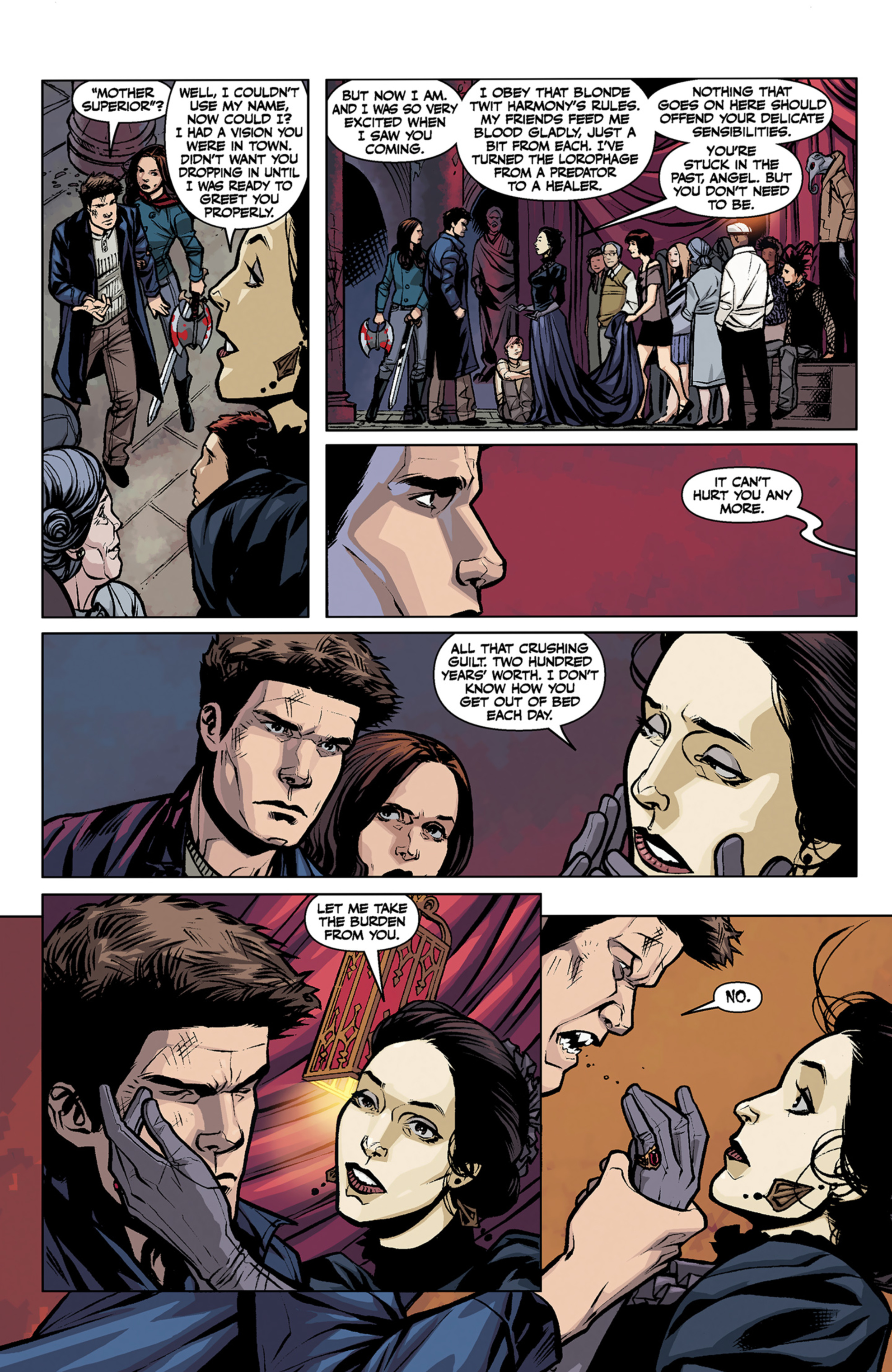 Read online Angel and Faith comic -  Issue #7 - 9