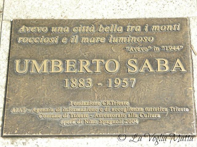 targa Umberto Saba
