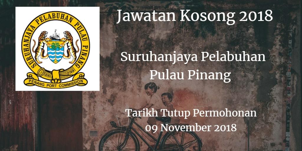 Jawatan Kosong SPPP  09 November 2018
