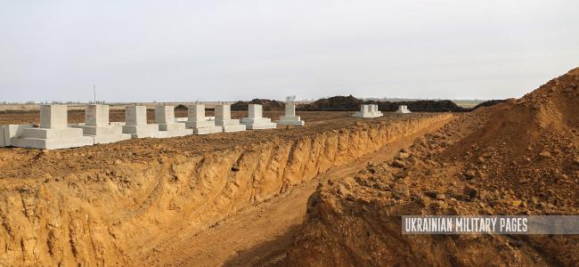 На полігоні «Широкий Лан» почалось будівництво бригадного табірного містечка