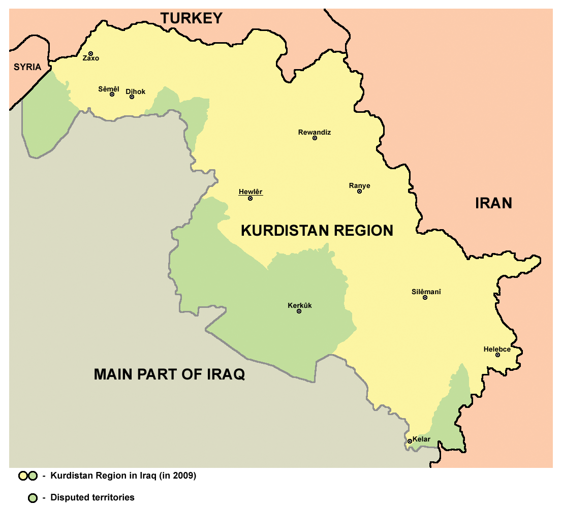An introduction to the largest ethnic group of kurds with no state to call their own